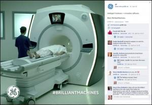 Agent Smith auf der Facebook-Seite von GE