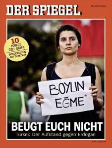 """SPIEGEL-Titel 26/2013 - """"Boyun Egme - Beugt euch nicht"""""""