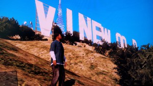 The Vinewood-Sign in GTA V