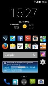 Besims Android-Ansicht Widgets Seite 1